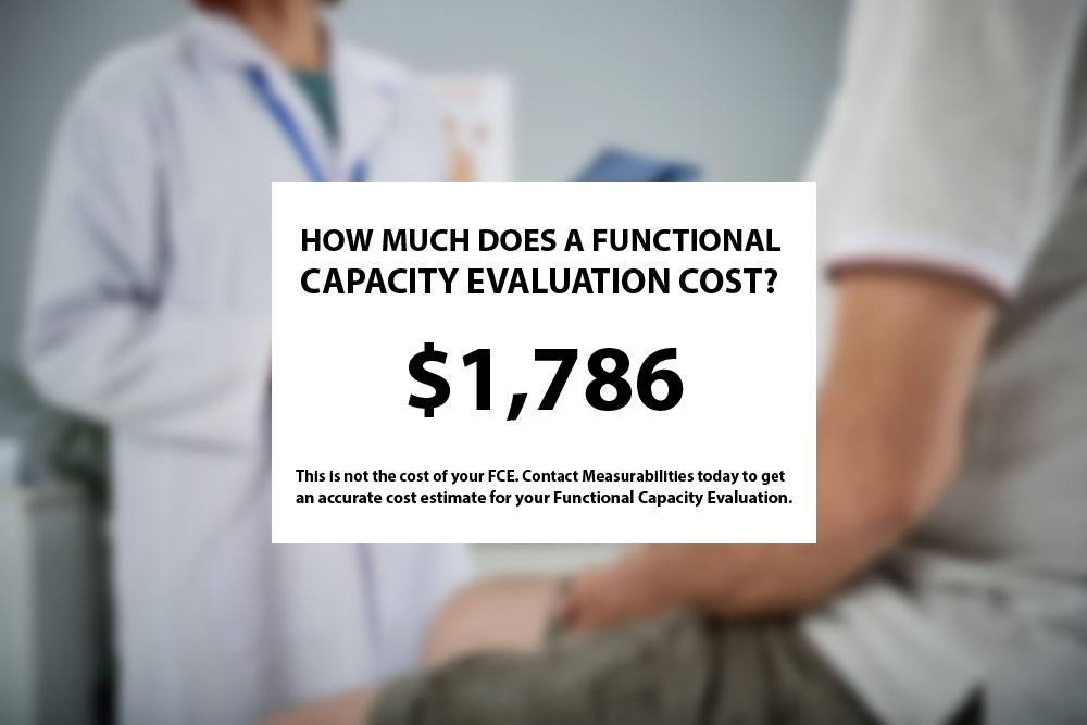 Functional Capacity Evaluation Cost